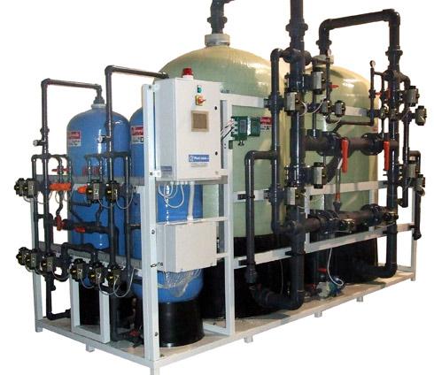 Impianti per il trattamento e addolcimento acqua - addolcitori industriali