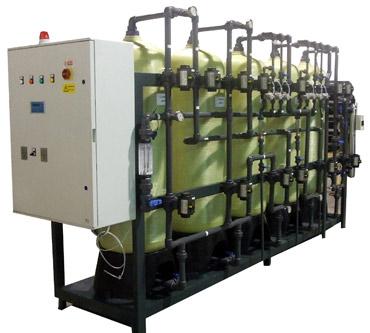 Demineralizzatori acqua equicorrente - Impianti per il trattamento acque