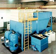 Impianto di depurazione chimico fisico