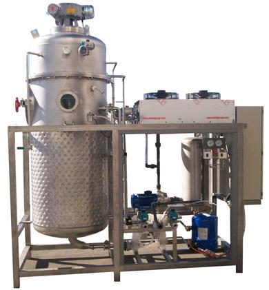 Impianti di evaporazione sottovuoto a pompa di calore e - Macchine per il sottovuoto alimentare ...